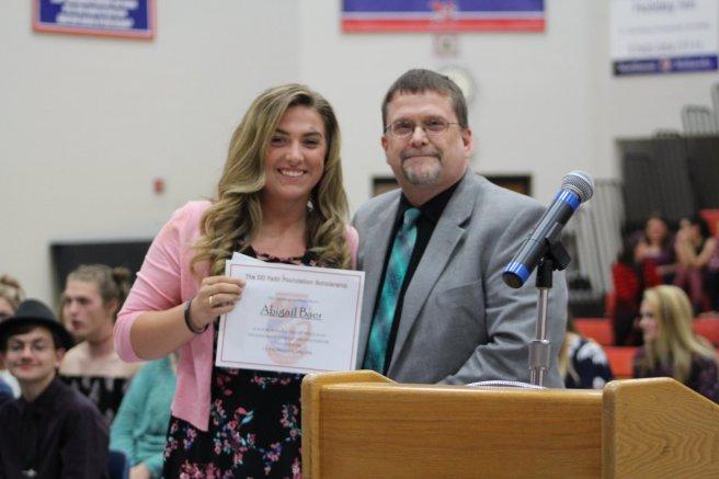 2018 Scholarship Reciepient