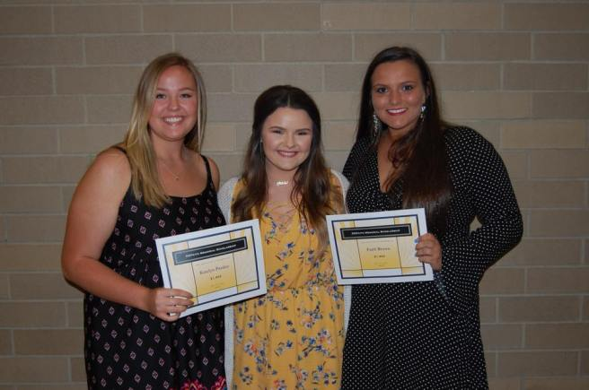 2018 Valley Scholarship Reciepients